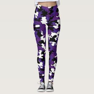 8b43de83d4 Women s Purple Camo Leggings