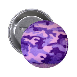purple camouflage button