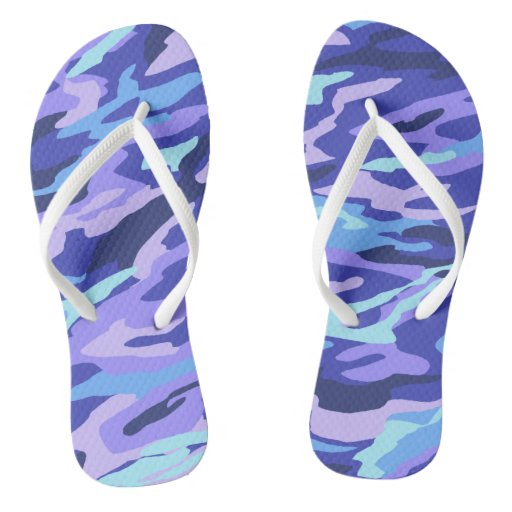 Purple & Teal Camouflage
