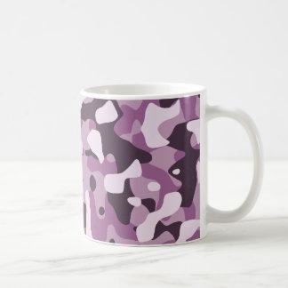 Purple Camouflage Mug