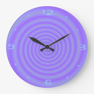 Purple Candy >Purple Patterned Clocks