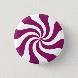 Purple Candy Swirl Pinback Button