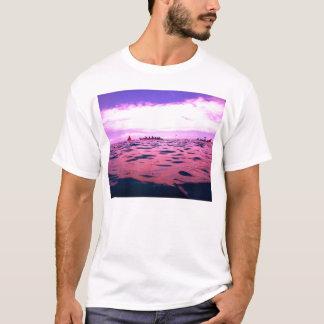 Purple Canoe Race Mens T-shirt