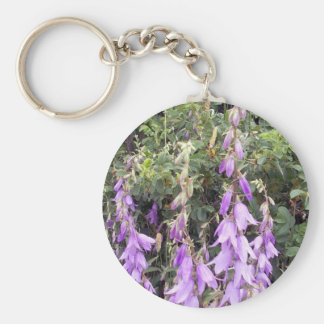 Purple Canterbury Bells 1 Key Chain