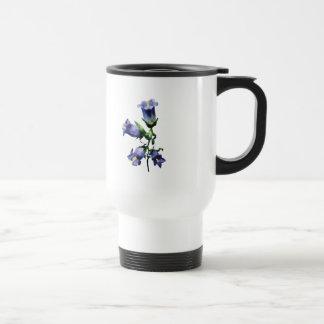 Purple Canterbury Bells 15 Oz Stainless Steel Travel Mug