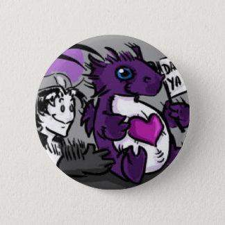 Purple Care Dragoon Button