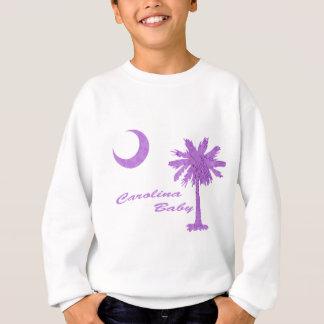 Purple Carolina Baby Sweatshirt