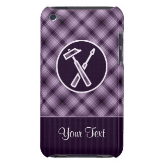 Purple Carpenter Tools Barely There iPod Cases