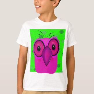 Purple Cartoon Owl d T-Shirt