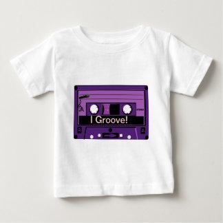 Purple Cassette Groove_ Baby T-Shirt