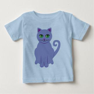 Purple Cat Baby T-Shirt