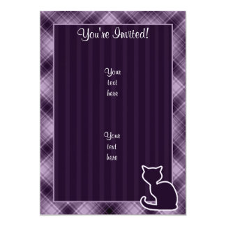 Purple Cat Card