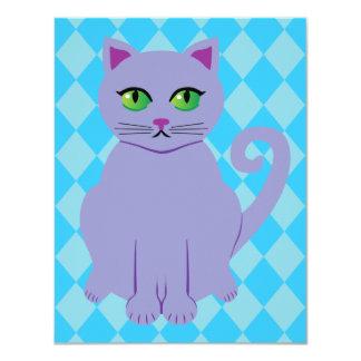 Purple Cat Card