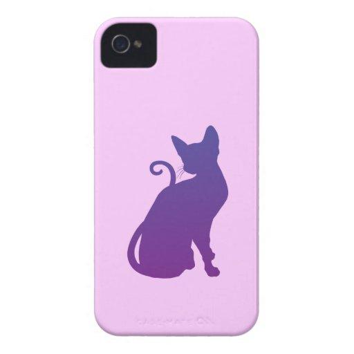 Purple Cat Case-Mate iPhone 4 Case