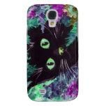 (Purple Cat Galaxy S4 Covers