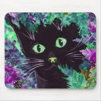 (Purple Cat Mouse Pad