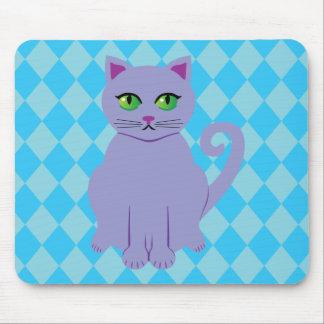 Purple Cat Mousepad