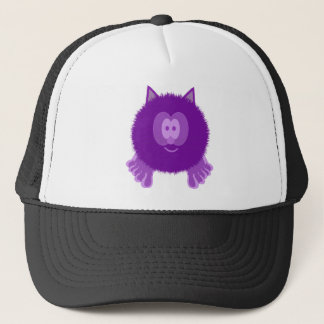 Purple Cat Pom Pom Pal Hat