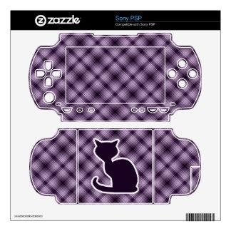 Purple Cat PSP Skins
