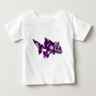 Purple Catfish Baby T-Shirt