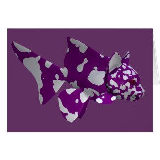 Purple Catfish Card