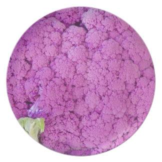 Purple cauliflower for sale melamine plate