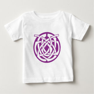 Purple Celtic Circle Baby T-Shirt
