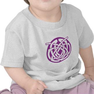 Purple Celtic Circle T-shirts