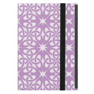 Purple Celtic Knot CHOOSE YOUR OWN BACKGROUND Cover For iPad Mini