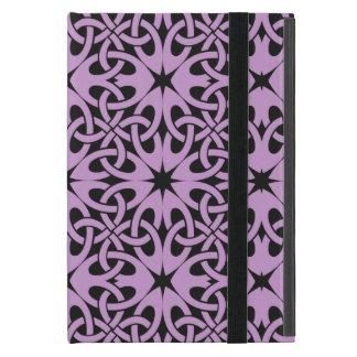 Purple Celtic Knot CHOOSE YOUR OWN BACKGROUND iPad Mini Case