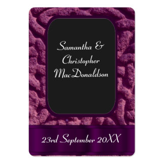 Purple celtic knot favor thank you tag large business cards (Pack of 100)