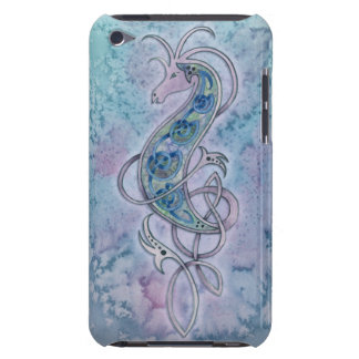 Purple Celtic Knot Sea Dragon iPod Case Barely There iPod Cover