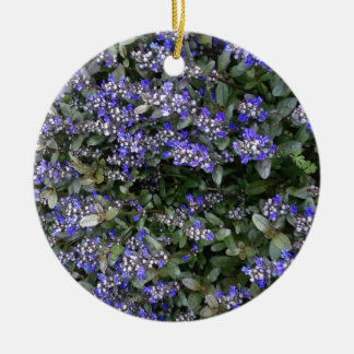 Purple Ceramic Ornament
