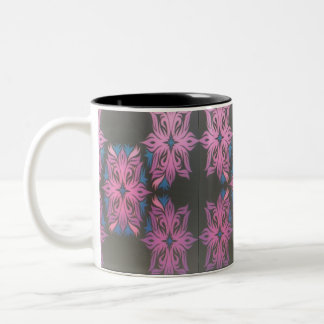 Purple Chains 15 oz. Two-Tone Mug