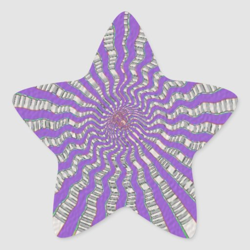 Purple Chakra - Cool Purple Breeze Sticker