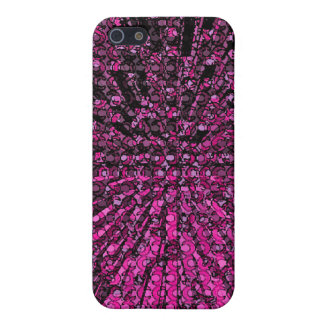 Purple Chaos Outer Space Design iPhone SE/5/5s Case