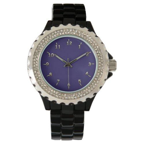 Purple Charm Wristwatch
