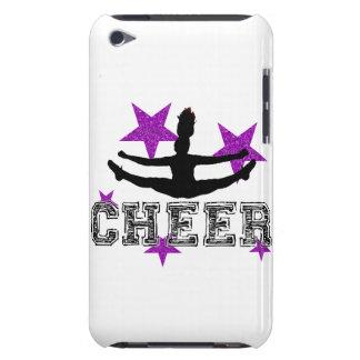 Purple Cheerleader iPod Case-Mate Cases