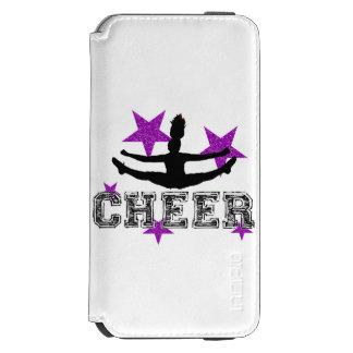 Purple Cheerleader iPhone 6/6s Wallet Case
