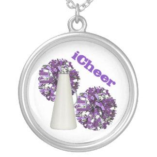 Purple Cheerleader necklace
