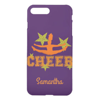 Purple Cheerleader personalized iphone 7 case