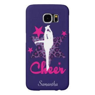 Purple Cheerleader Samsung Galaxy S6 Case