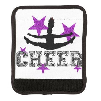 Purple cheerleader handle wrap