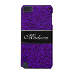 Purple Cheetah Customizable 5G iPod Touch Case iPod Touch (5th Generation) Case