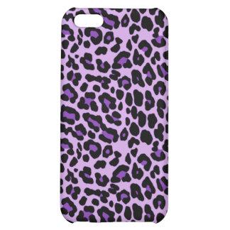 Purple Cheetah iPhone Case iPhone 5C Case