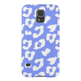 Purple Cheetah Leopard Print Galaxy S5 Case