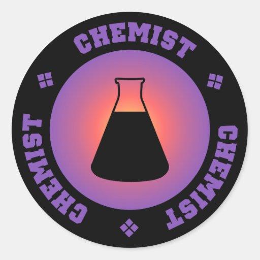 Purple Chemist Sticker