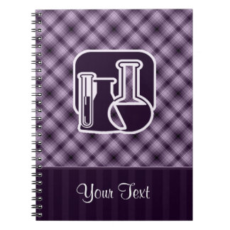 Purple Chemistry Spiral Note Book
