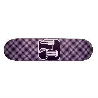 Purple Chemistry Skate Board Deck