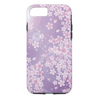 Purple Cherry Blossom iPhone 7 case Vibe Case